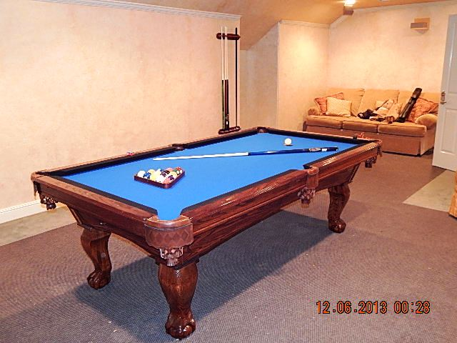 Awesome Blue Pool Table #13 - Admiral Pool Tables