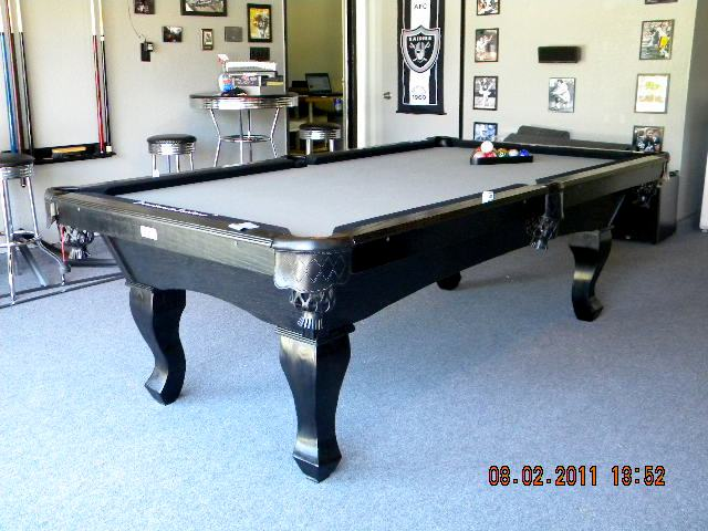 Charming We Also Specialize In The RAIDER Pool Table For All The Raider Fans Out  There!!